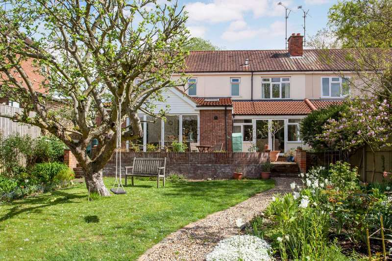 5 Bedrooms Semi Detached House for sale in Kidmore Road, Caversham Heights, Reading