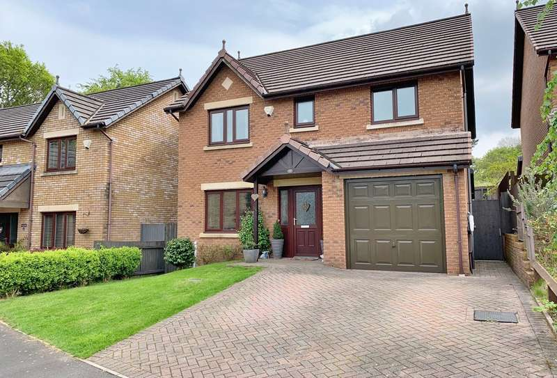 4 Bedrooms Detached House for sale in Clos Trefeddyg, Machen, Caerphilly, CF83