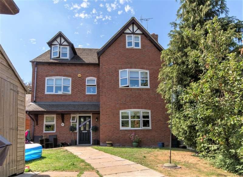 5 Bedrooms Detached House for sale in Lea Lane, Crewe, Staffordshire, CW3