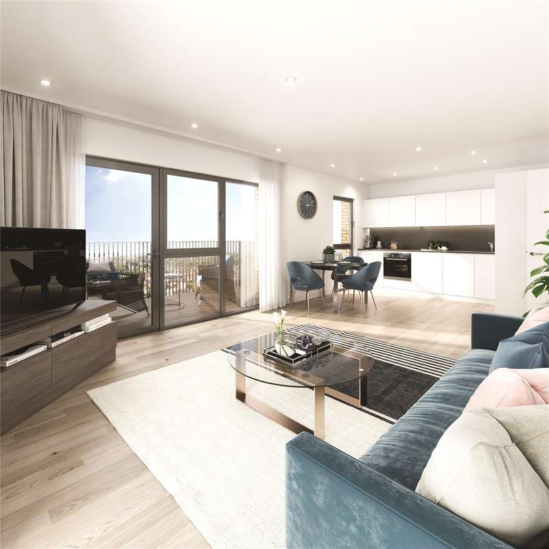 2 Bedrooms Apartment Flat for sale in Millbrook Park, Bittacy Hill, London, NW7