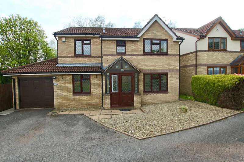 4 Bedrooms Detached House for sale in Ashleigh Court, Henllys, NP44