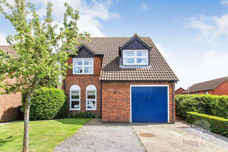 4 Bedrooms Detached House for sale in Thompson Drive, Thatcham