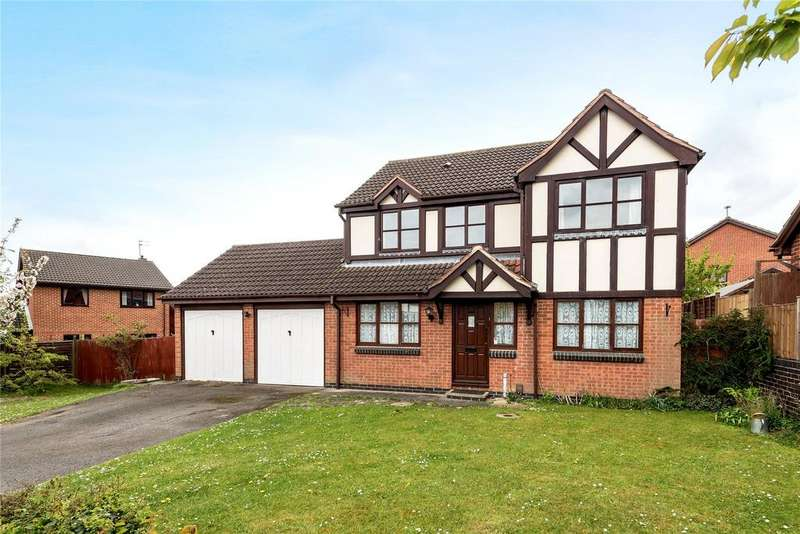 4 Bedrooms Detached House for sale in Cherrywood Drive, Gonerby Hill Foot, NG31