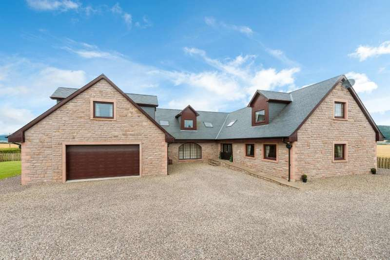 5 Bedrooms Detached House for sale in Leetown , Glencarse, Perth, Perthshire, PH2 7NP