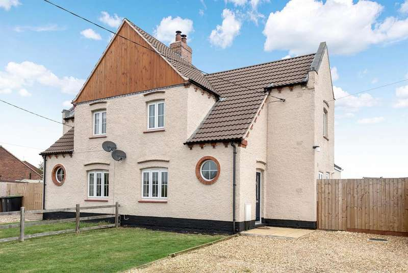 3 Bedrooms Semi Detached House for sale in Station Road, Metheringham, Lincoln, LN4 3HR