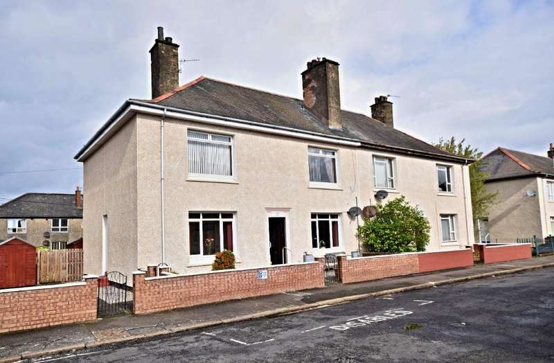2 Bedrooms Flat for sale in Georges Avenue , Ayr , South Ayrshire , KA8 9HW