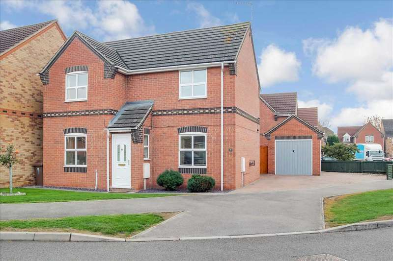 3 Bedrooms Detached House for sale in Cavalry Court, Metheringham, Lincoln