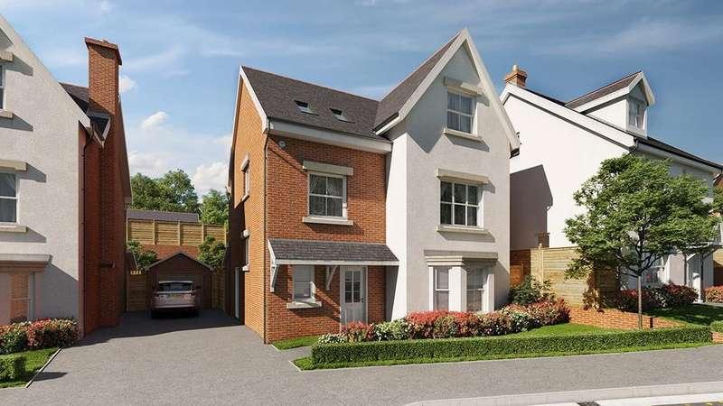 4 Bedrooms Detached House for sale in Maes Helyg, Vicarage Road, Llangollen