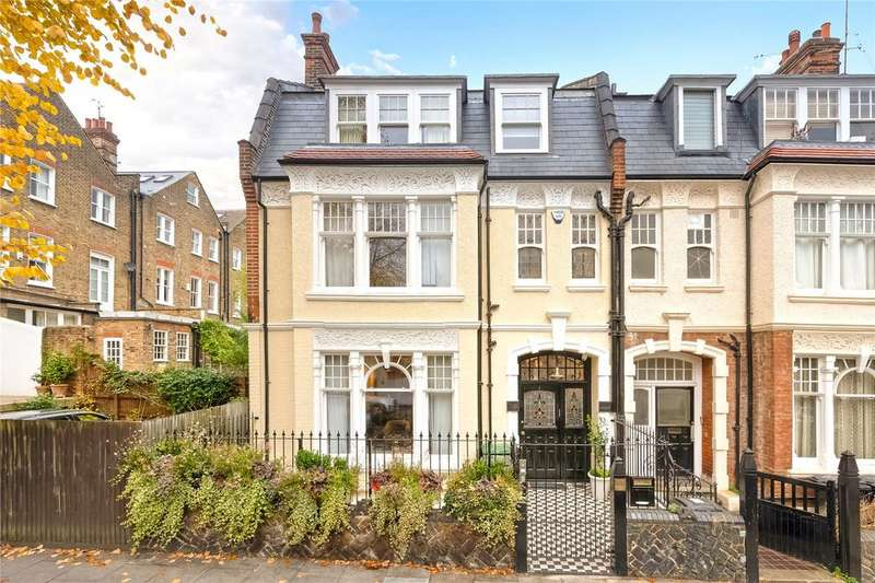 5 Bedrooms End Of Terrace House for sale in Glenilla Road, London, NW3