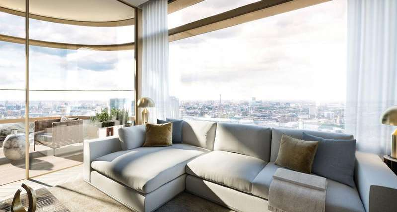 3 Bedrooms Apartment Flat for sale in Principal Tower, Worship Street, London E1