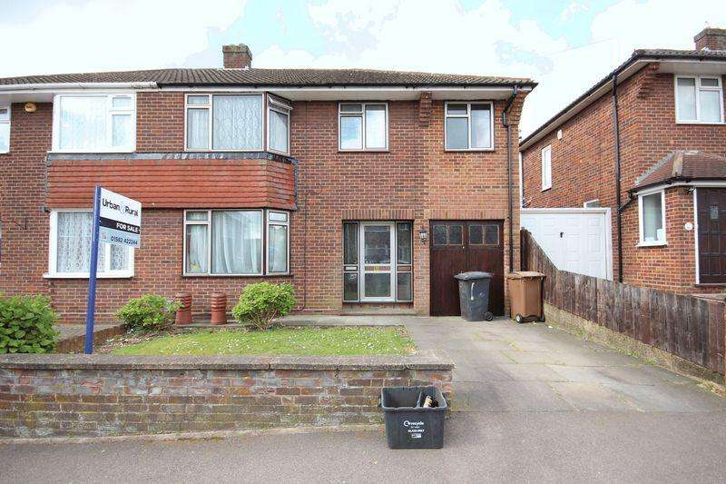 4 Bedrooms Semi Detached House for sale in Silecroft Road, Luton
