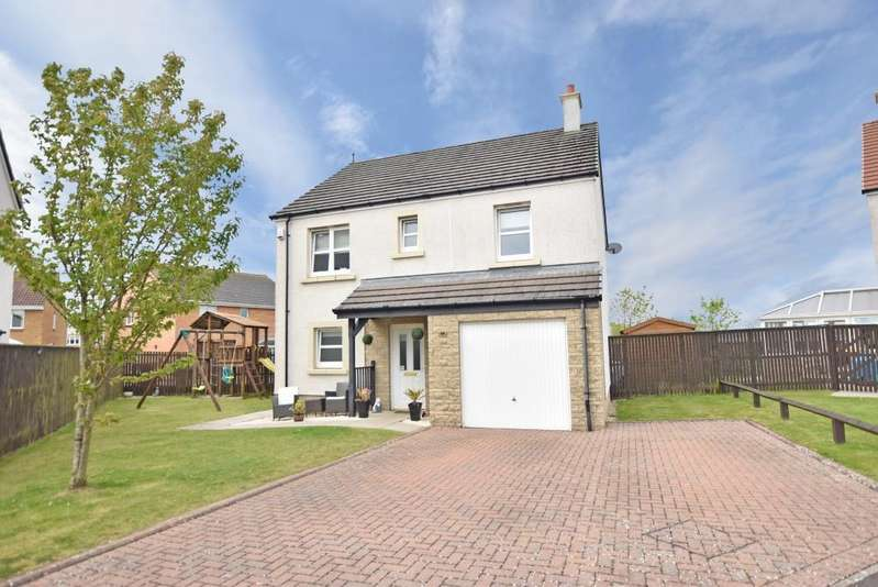 4 Bedrooms Detached Villa House for sale in 15 McAuslane Way, Troon, KA10 7NP