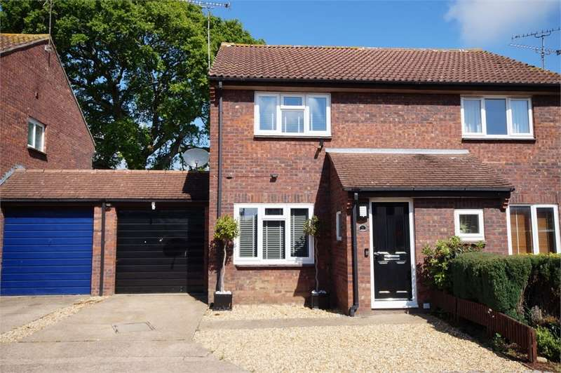 2 Bedrooms Semi Detached House for sale in Hollym Close, Lower Earley, READING, Berkshire