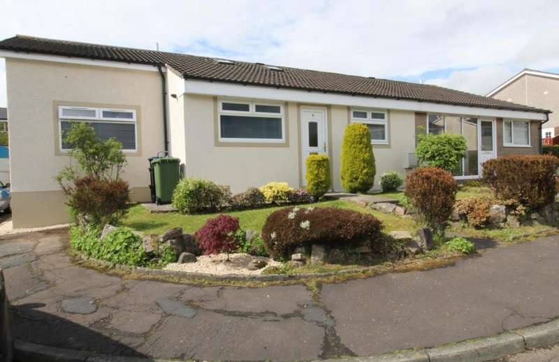 2 Bedrooms Bungalow for sale in Dornie Close, Stewarton, KA3