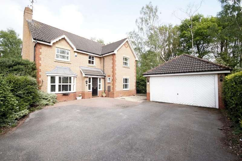 4 Bedrooms Detached House for sale in Swanholme Close, Lincoln