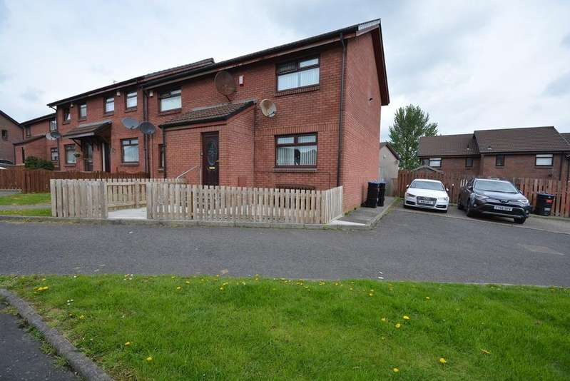 2 Bedrooms End Of Terrace House for sale in Witchknowe Court, Kilmarnock, KA1