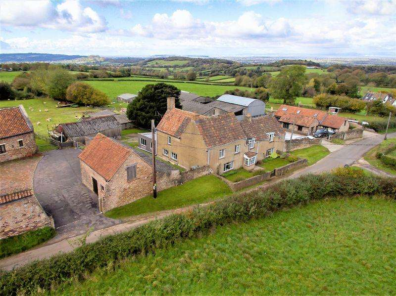 5 Bedrooms Detached House for sale in Rowberrow, Somerset