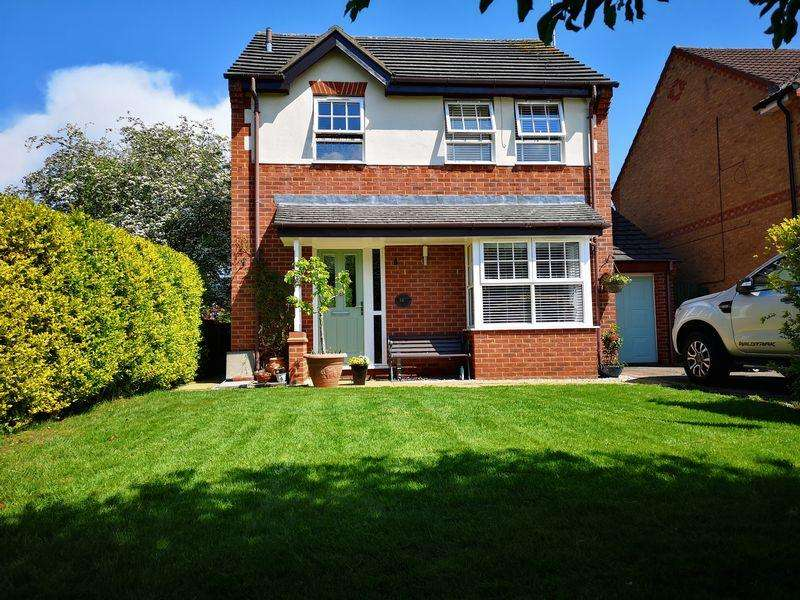 3 Bedrooms Detached House for sale in Holdenby Close, Market Harborough