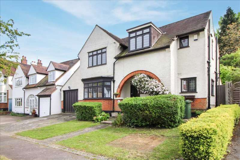 4 Bedrooms Detached House for sale in Mount Crescent, Warley, Brentwood