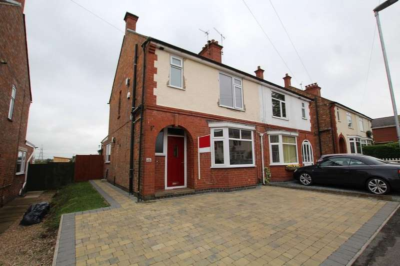 3 Bedrooms Semi Detached House for sale in Flamville Road, Burbage