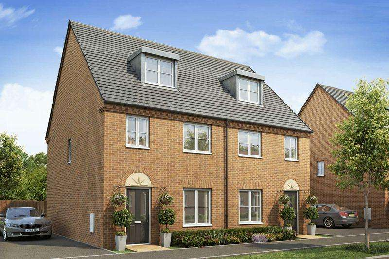 3 Bedrooms Semi Detached House for sale in Steppingley Gardens, Flitwick