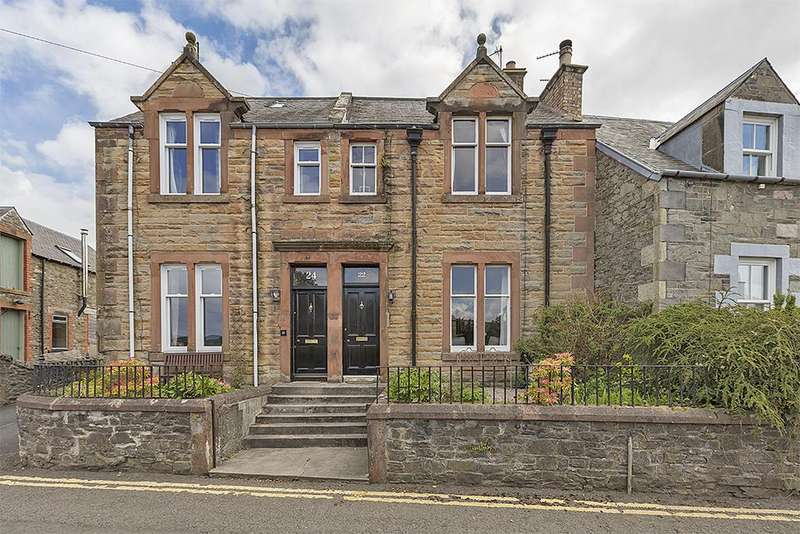 3 Bedrooms Terraced House for sale in 22 Chapel Street, Selkirk TD7 4JY