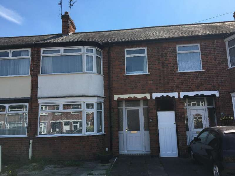 3 Bedrooms Town House for sale in Worcester Road, Old Aylestone, Leicester, Leicestershire, LE2 8HY