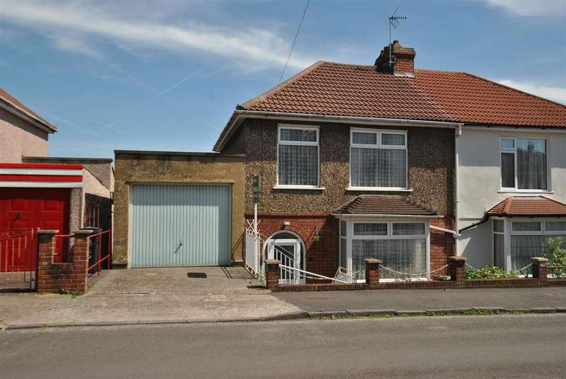 3 Bedrooms Semi Detached House for sale in Queens Road, Knowle, Bristol
