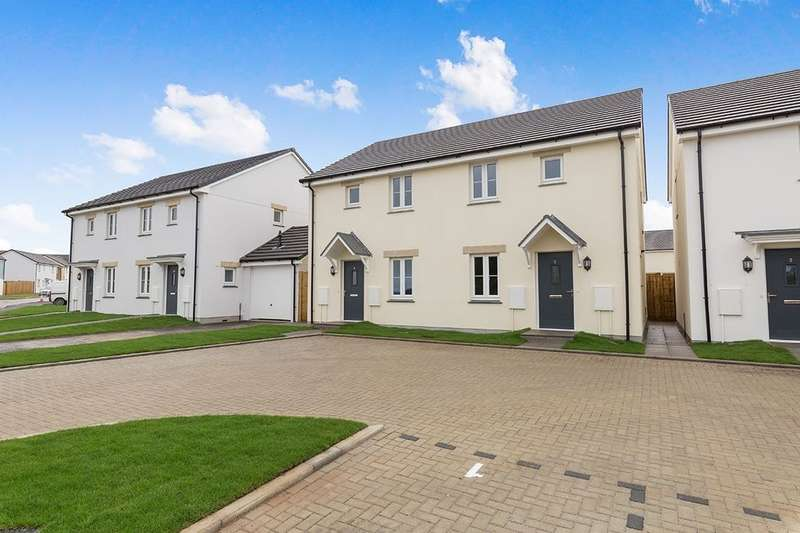 3 Bedrooms Semi Detached House for sale in Galingale Drive, Camborne, TR14