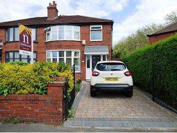 3 Bedrooms Semi Detached House for sale in 29 Parrswood Road, Withington, Manchester, M20 4WJ