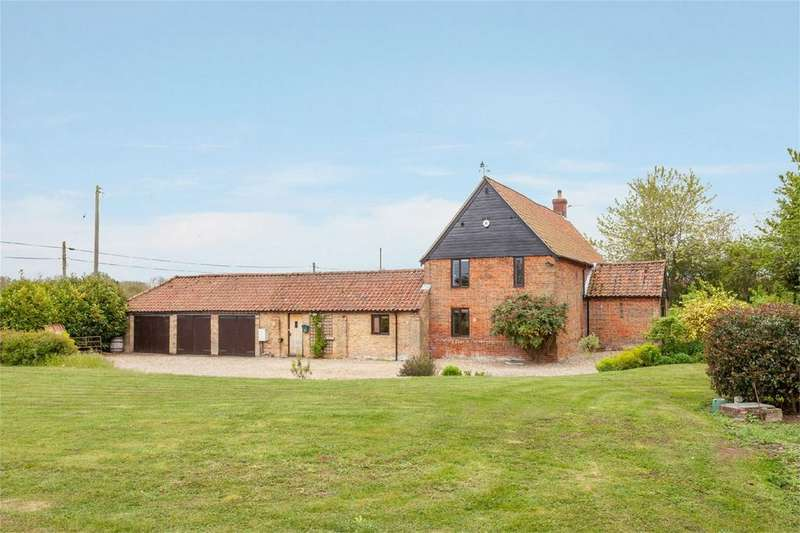 6 Bedrooms Barn Conversion Character Property for sale in Folly Lane, Claxton, Norwich