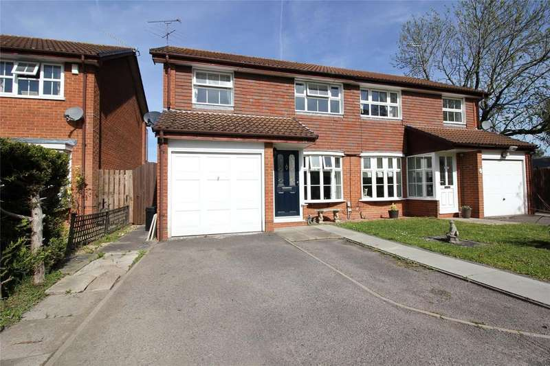 3 Bedrooms Semi Detached House for sale in Gregory Close, Lower Earley, Reading, Berkshire, RG6