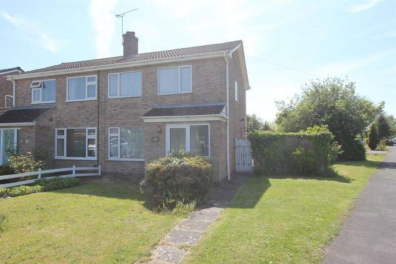 3 Bedrooms Semi Detached House for sale in Brodick Close, Hinckley