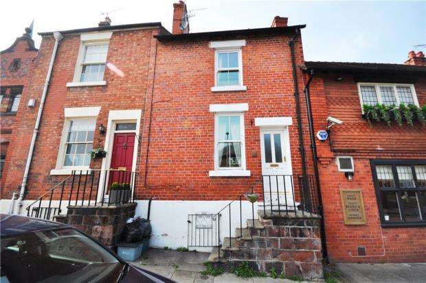 2 Bedrooms Terraced House for sale in Handbridge, Chester, Cheshire