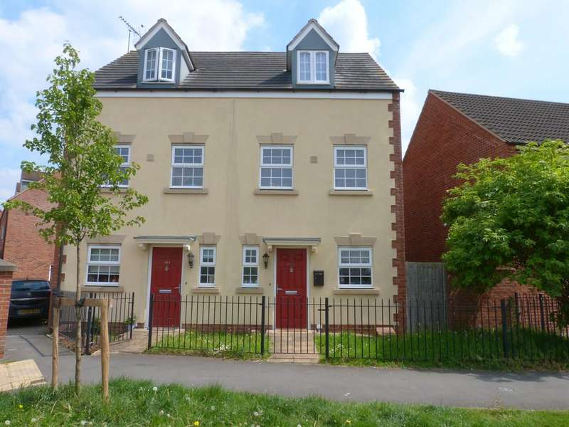 3 Bedrooms Semi Detached House for sale in Valley Gardens, Kingsway, Gloucester