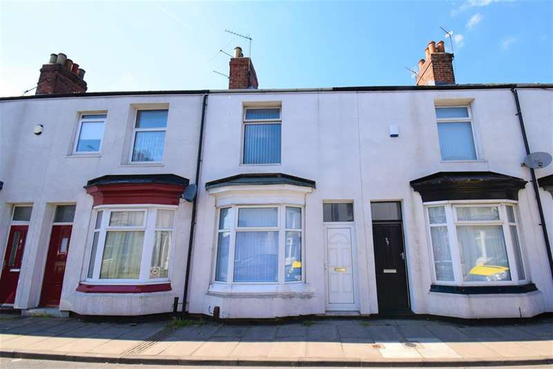 2 Bedrooms Terraced House for sale in Longford Street, Middlesbrough, TS1 4RP