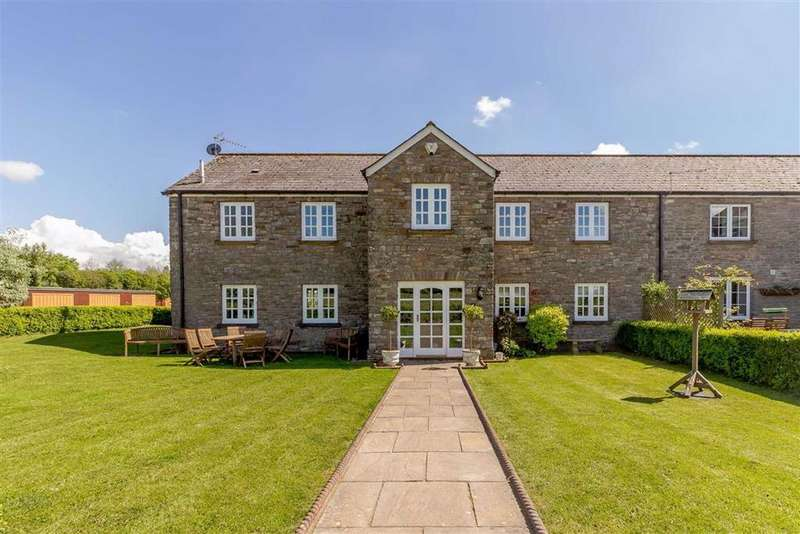 3 Bedrooms Semi Detached House for sale in Home Farm Court, Shirenewton