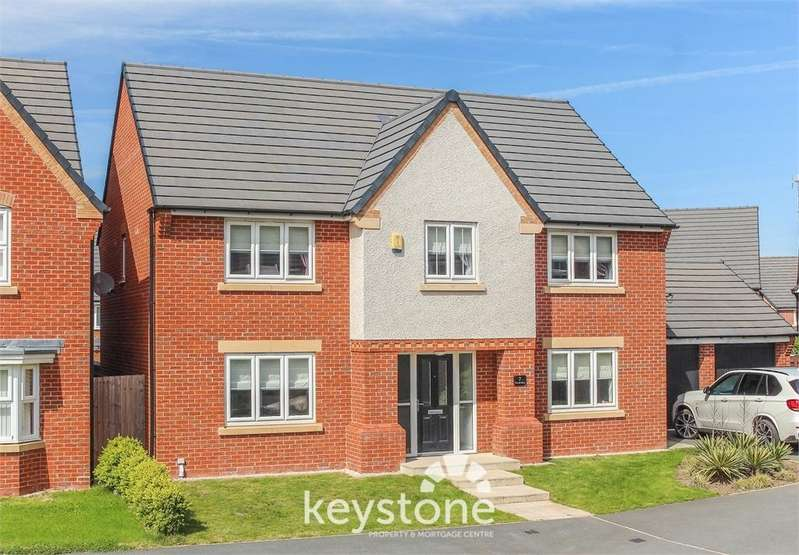 4 Bedrooms Detached House for sale in Ffordd Bate, Connah's Quay, Deeside. CH5 4ES