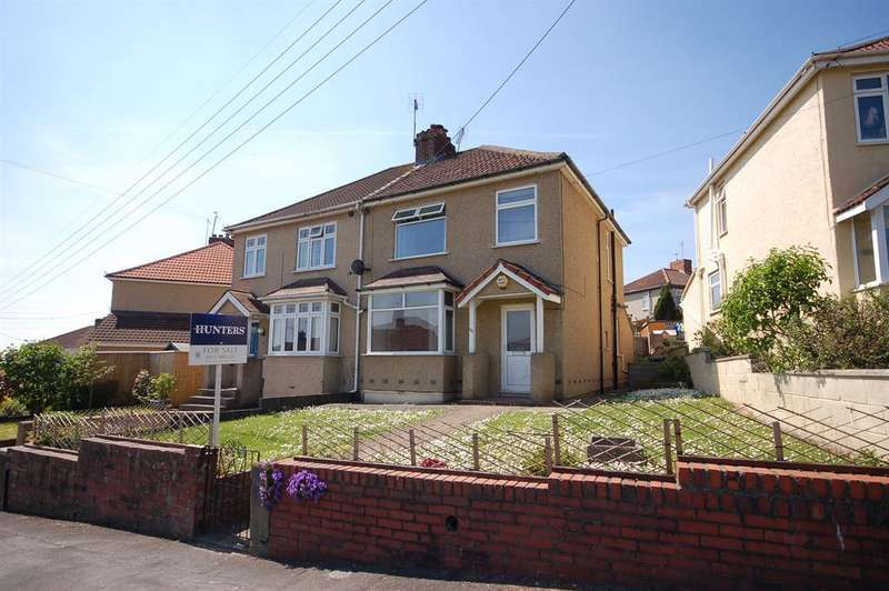 3 Bedrooms Semi Detached House for sale in Station Road, Kingswood, Bristol BS15 4XN
