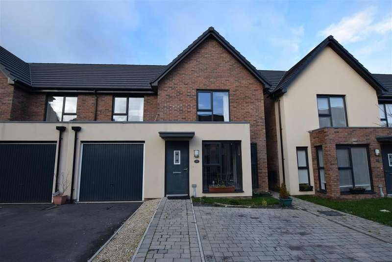 3 Bedrooms Semi Detached House for rent in Baruc Way, Barry