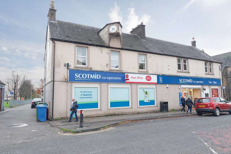 1 Bedroom Flat for sale in Main Street East, Menstrie, FK11 7BL