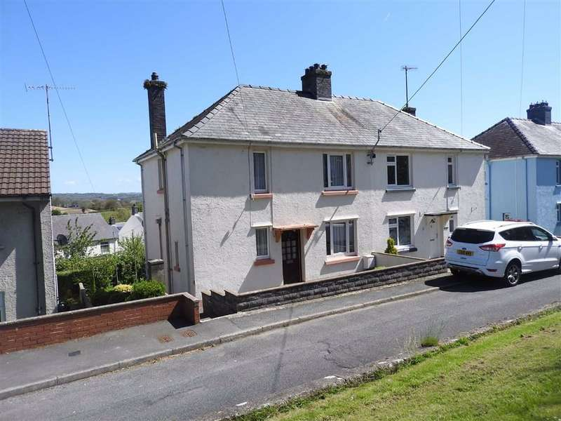 3 Bedrooms Semi Detached House for sale in Maeshyfryd, ST DOGMAELS, Pembrokeshire