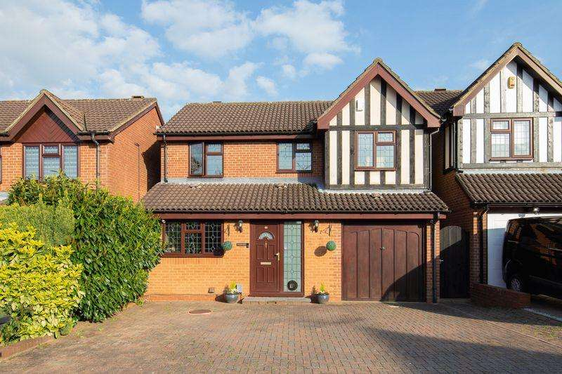 4 Bedrooms Detached House for sale in Stunning extended 4 bed in Wigmore...