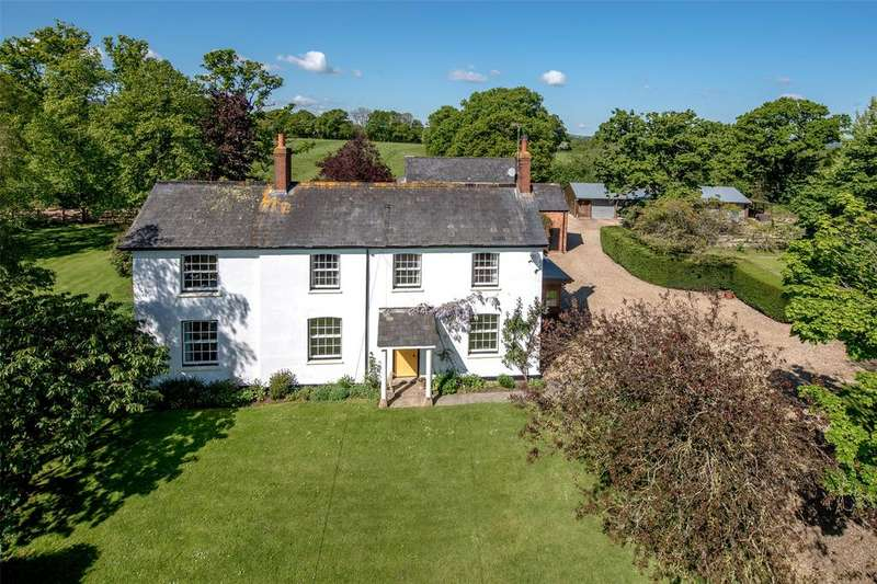 5 Bedrooms Detached House for sale in West Buckland, Wellington