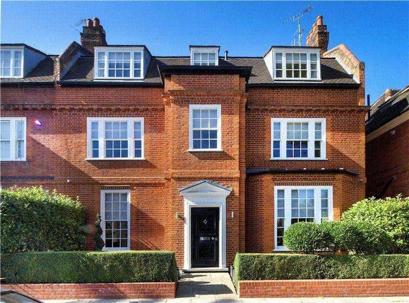 5 Bedrooms Semi Detached House for sale in Glenilla Road, Belsize Park, London, NW3