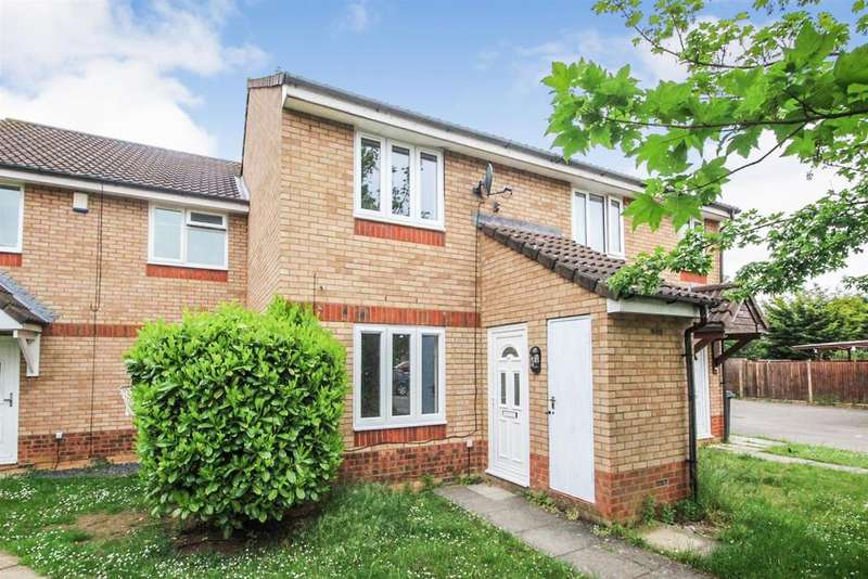 2 Bedrooms Terraced House for sale in Heather Gardens, Bedford