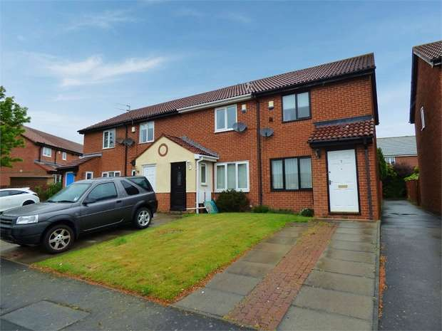 2 Bedrooms Terraced House for sale in Alstone Court, Choppington, Northumberland