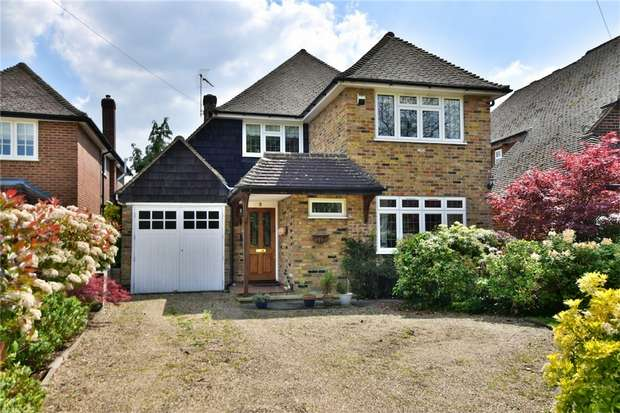 4 Bedrooms Detached House for sale in Llanbury Close, Chalfont St Peter, Buckinghamshire