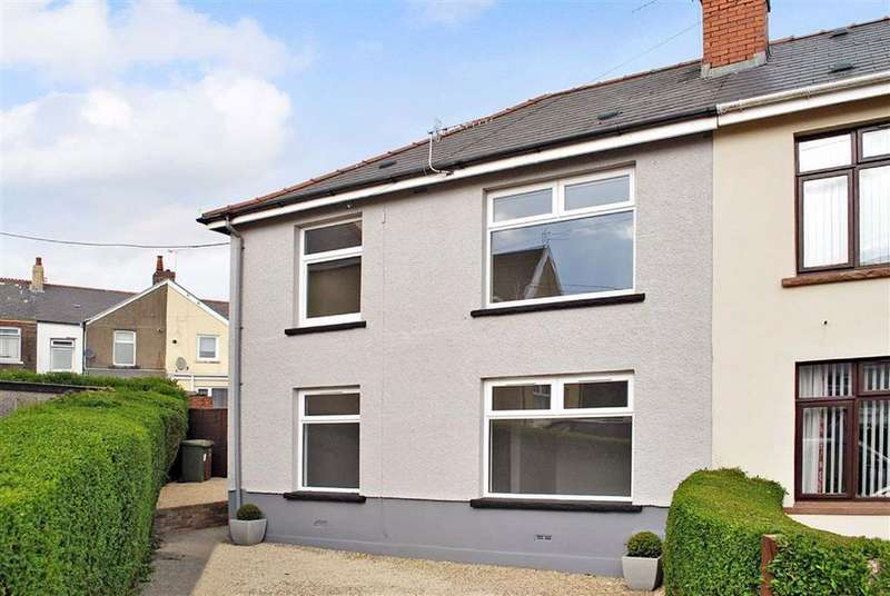 3 Bedrooms Semi Detached House for sale in The Drive, Bargoed