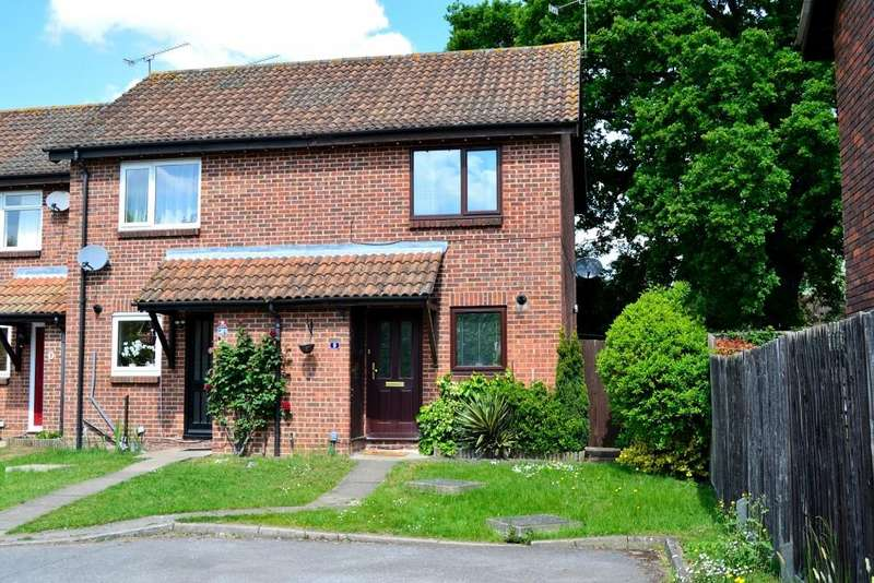 2 Bedrooms End Of Terrace House for sale in Chicory Close, Earley, Reading, Berkshire